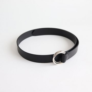 OVAL RING BELT #BLACK [BL02-M] _ Aeta | アエタ
