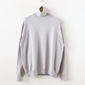 TURTLE-NECK #GRAY [1903-004] _ crepuscule | クレプスキュール