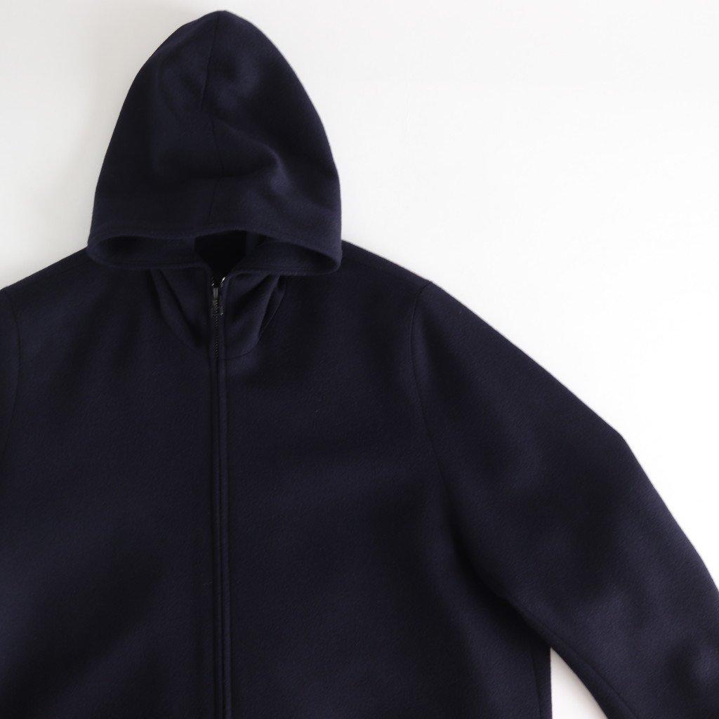 FBFJK|スーパー100Sウールローデンライク フードジャケット #NAVY [A9-FR141JK]