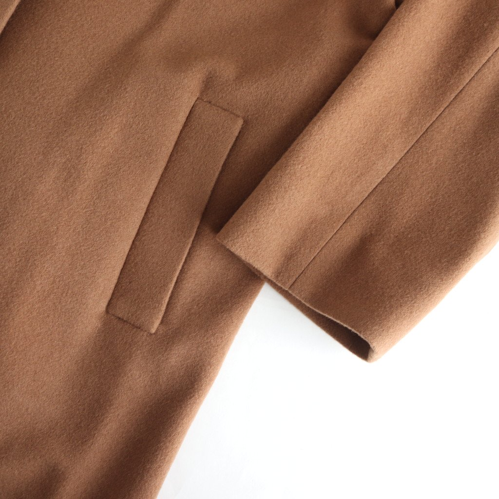 WOOL FLEECE COAT #CAMEL [GL193-10005]