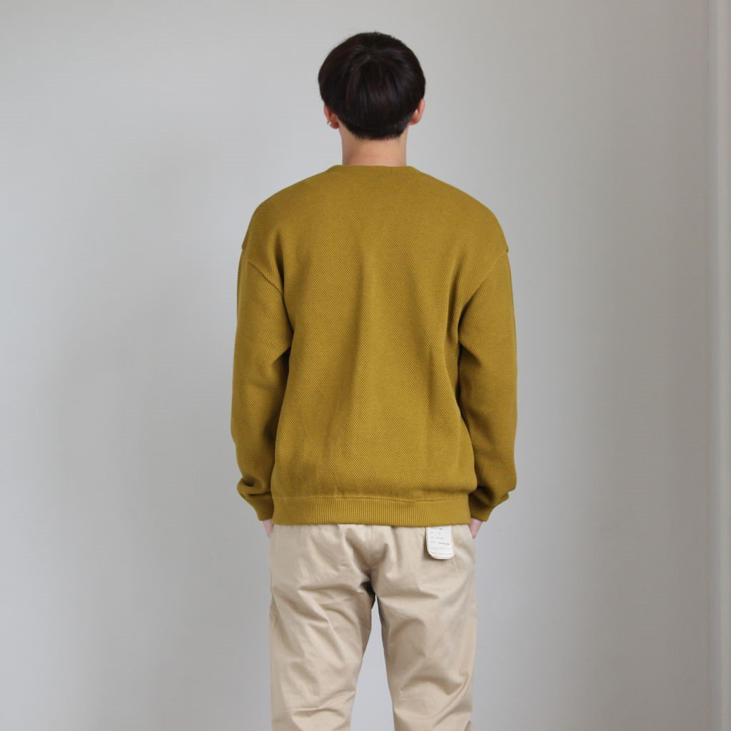 MOSS STITCH CARDIGAN for ciacura #PICKLES [1903-017]
