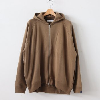 LOOPWHEELER for GP FULL ZIP PARKA #KHAKI [GU193-70126B] _ Graphpaper | グラフペーパー