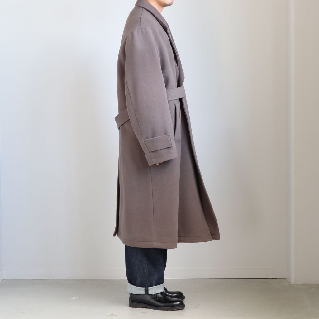 <img class='new_mark_img1' src='https://img.shop-pro.jp/img/new/icons1.gif' style='border:none;display:inline;margin:0px;padding:0px;width:auto;' />OVERSIZED LESS COAT #K.GRAY [ST.088]