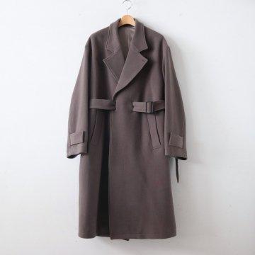 OVERSIZED LESS COAT #K.GRAY [ST.088] _ stein | シュタイン