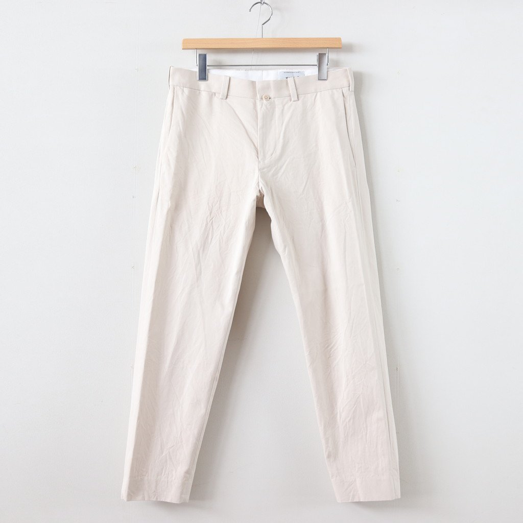<img class='new_mark_img1' src='https://img.shop-pro.jp/img/new/icons1.gif' style='border:none;display:inline;margin:0px;padding:0px;width:auto;' />CHINO CLOTH PANTS STANDARD #BEIGE [19653]
