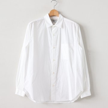 BUTTON SHIRT #WHITE [49151] _ YAECA | ヤエカ