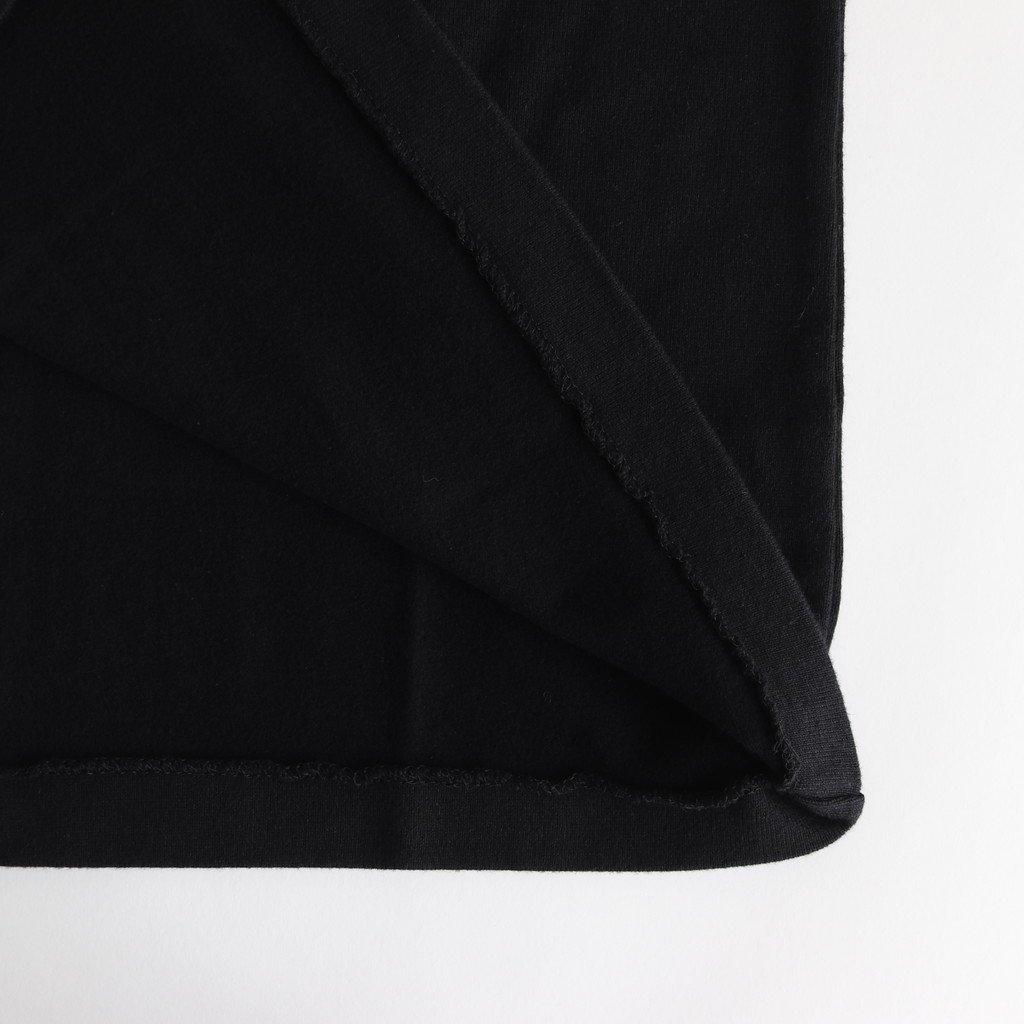 BASQUE SHIRT WIDE SHORT POCKET #BLACK [89057]