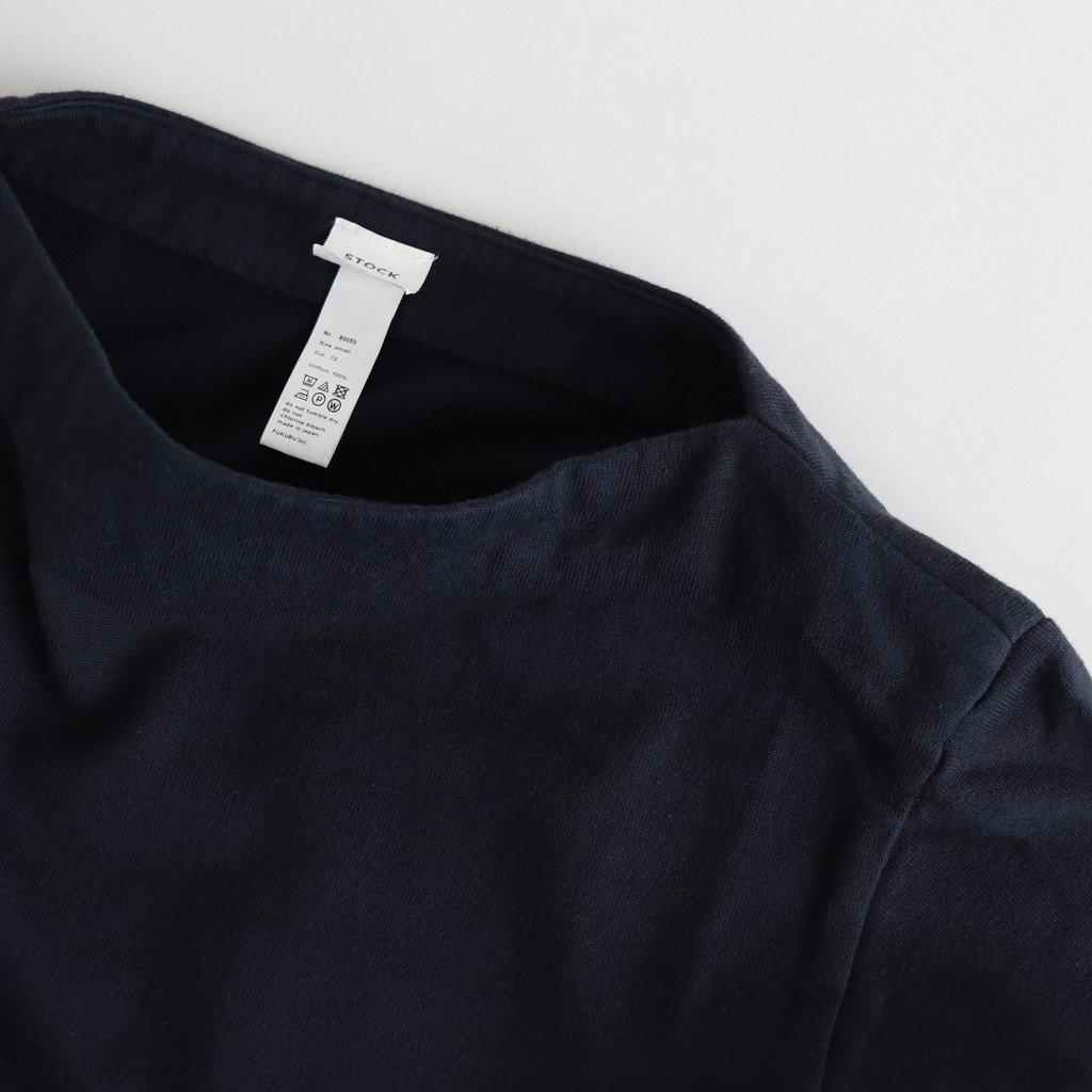 BASQUE SHIRT LONG #NAVY [89059]