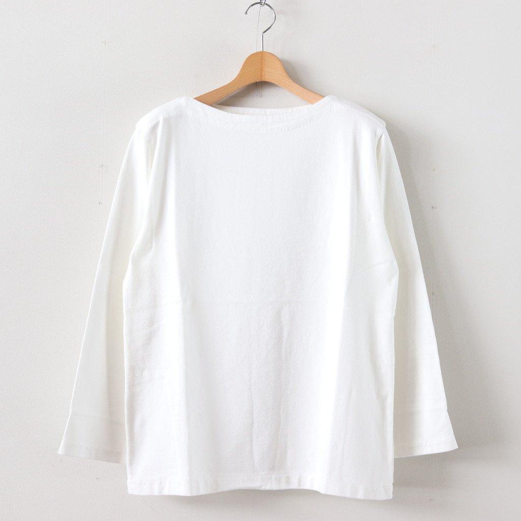 BASQUE SHIRT LONG #OFF WHITE [39059]