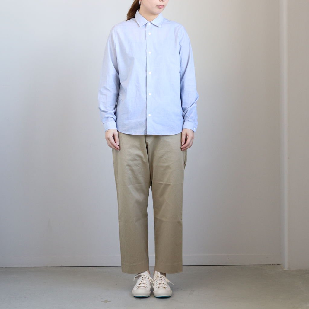 <img class='new_mark_img1' src='https://img.shop-pro.jp/img/new/icons1.gif' style='border:none;display:inline;margin:0px;padding:0px;width:auto;' />CHINO CLOTH PANTS STRAIGHT #KHAKI [69652]