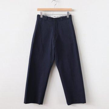 CHINO CLOTH PANTS STRAIGHT #NAVY [69652] _ YAECA | ヤエカ