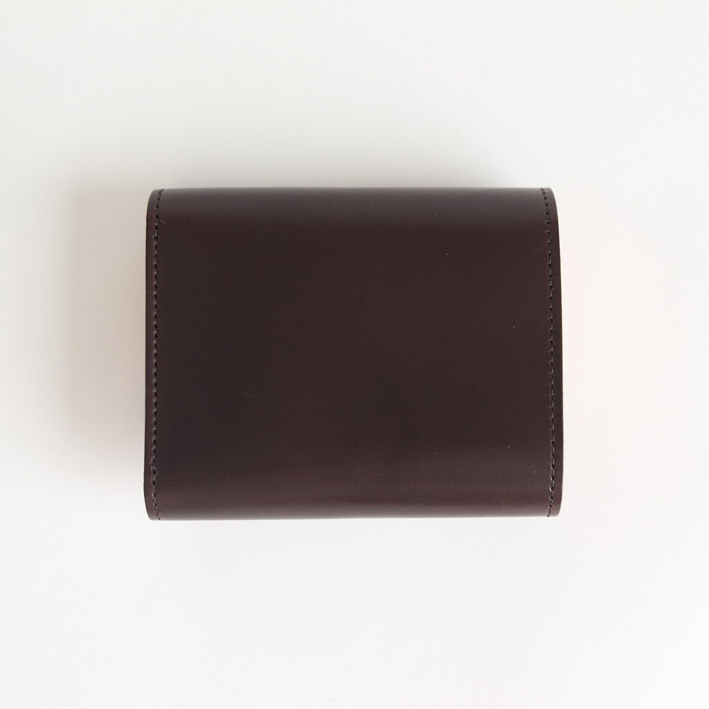 BELLOWS WALLET #DARK BROWN [di-rc-blw]