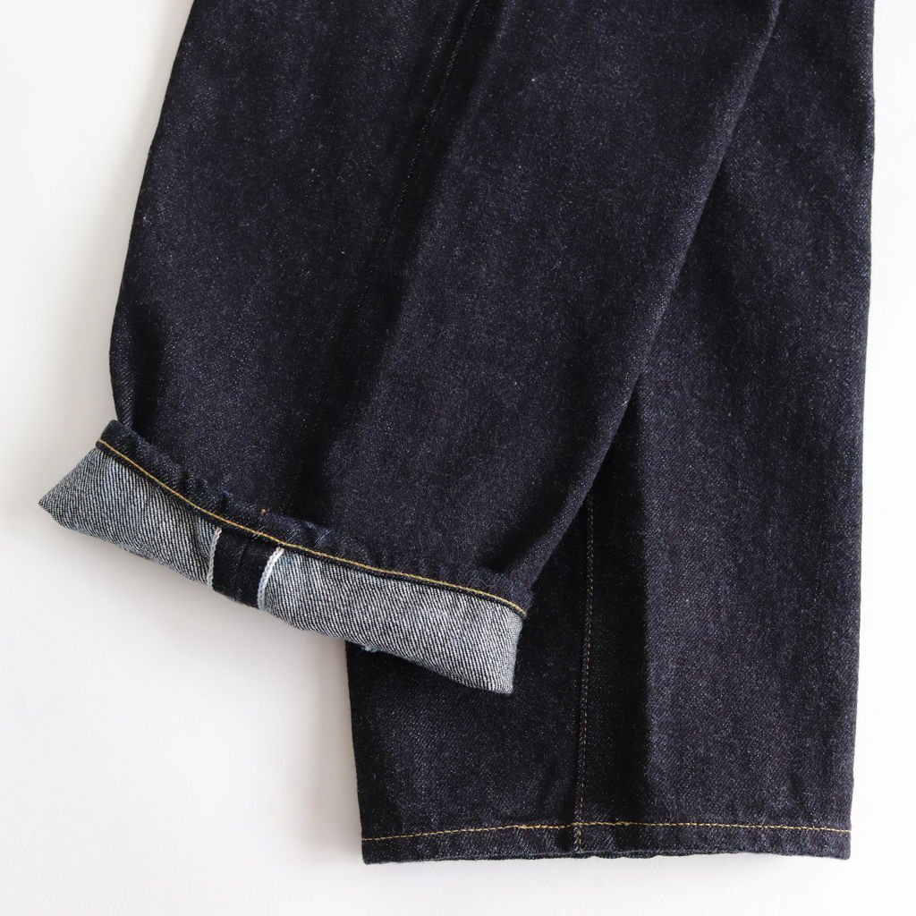 <img class='new_mark_img1' src='https://img.shop-pro.jp/img/new/icons1.gif' style='border:none;display:inline;margin:0px;padding:0px;width:auto;' />DENIM PANTS WIDE TAPERED #INDIGO [10-14W]