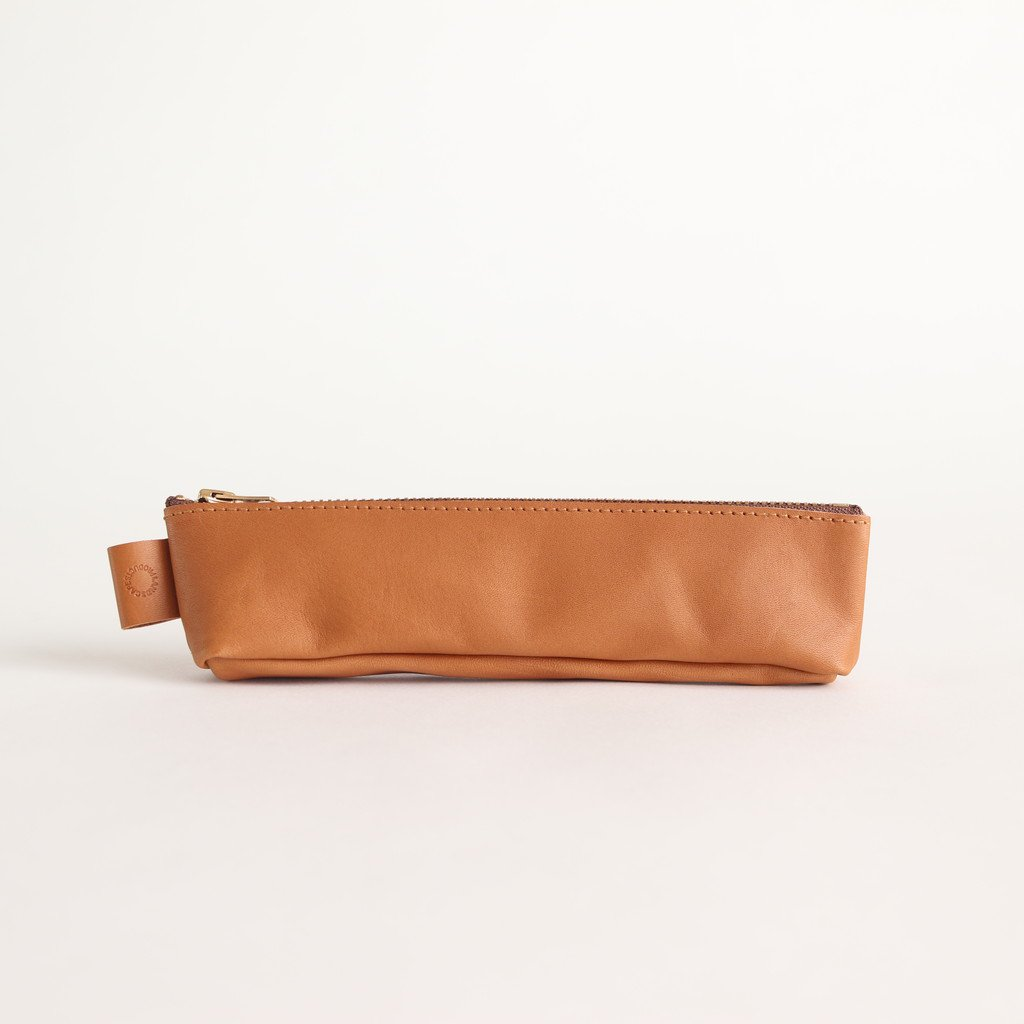 PEN CASE #BROWN [LSLA2-001-02]