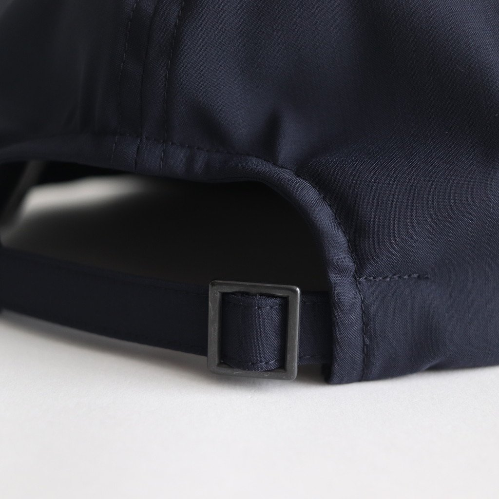 SHORT BRIM CAP2 (WOOL&POLYESTER) #NAVY [NO.16586]