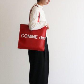 トートバッグ SA9001HL #HUGE LOGO/RED [8Z-T403-051] _ Wallet COMME des GARCONS | ウォレット コム デ ギャルソン