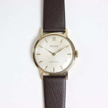 REMAKE WATCH #DARK BROWN LEATHER BAND / WHITE DIAL & GOLD CASE [20A-remake-2] _ Select - Watches | 腕時計