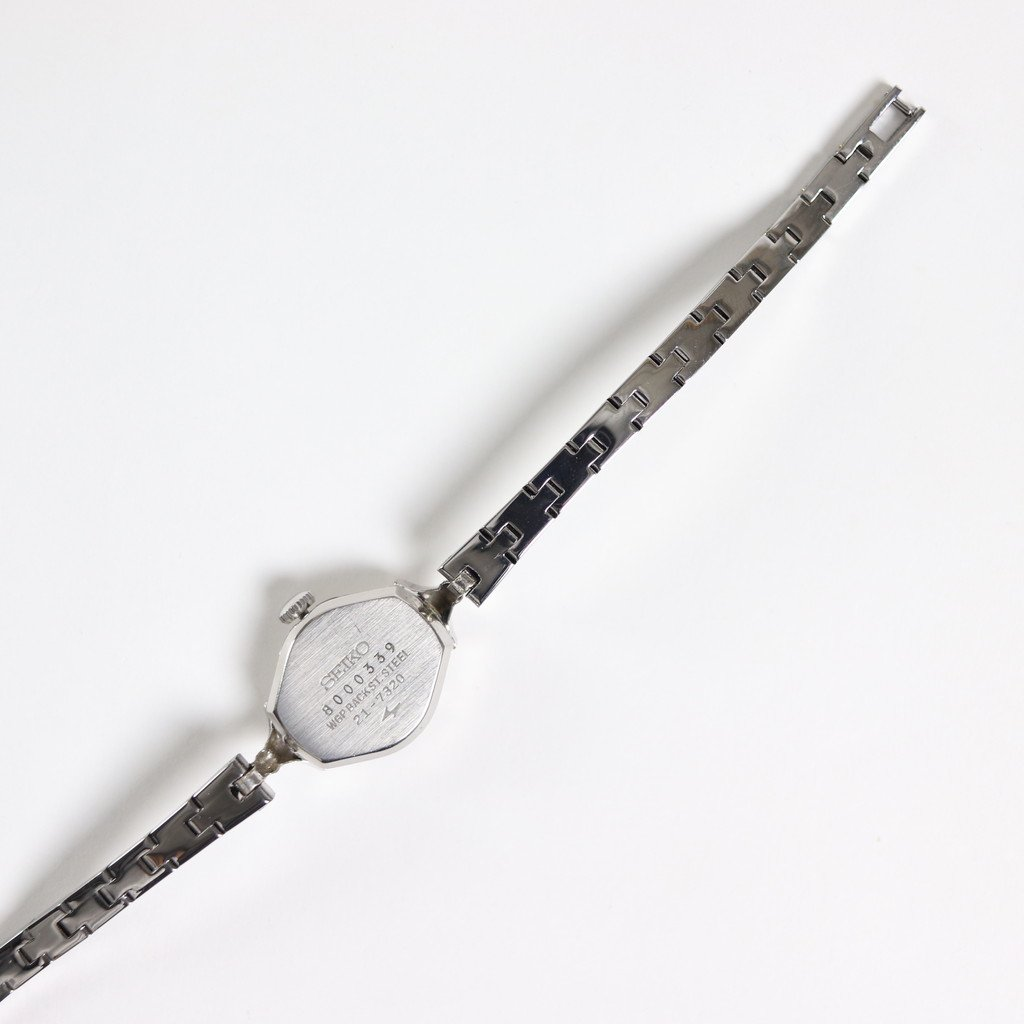 REMAKE WATCH #REMAKE WATCH #SILVER METAL BAND / PEARL WHITE DIAL & SILVER CASE [20A-remake-3]