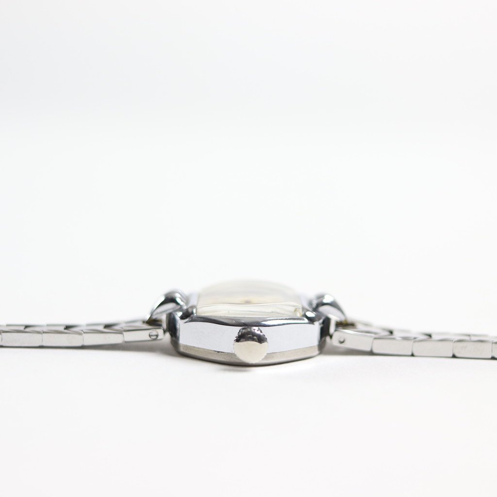 REMAKE WATCH #REMAKE WATCH #SILVER METAL BAND / PEARL WHITE DIAL & SILVER CASE [20A-remake-5]