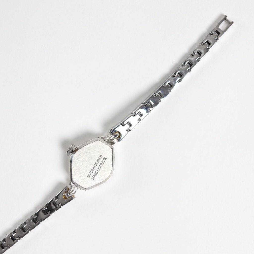 REMAKE WATCH #REMAKE WATCH #SILVER METAL BAND / PEARL WHITE DIAL & SILVER CASE [20A-remake-7]
