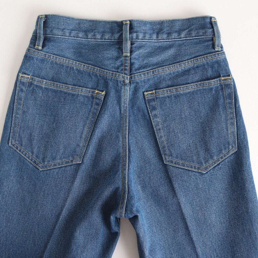 WASHED HARD TWIST DENIM 5P PANTS #LIGHT INDIGO [A20SB10DM]