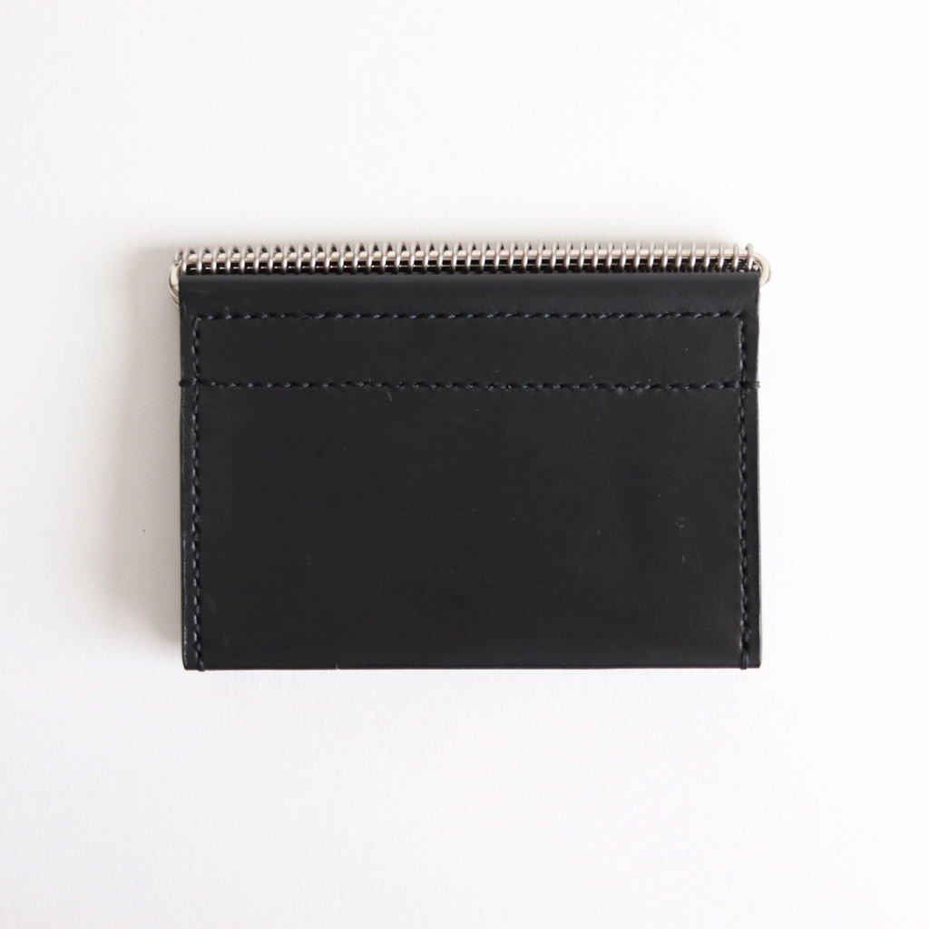 HELIX CARD CASE #BLACK [B01ICD-02]