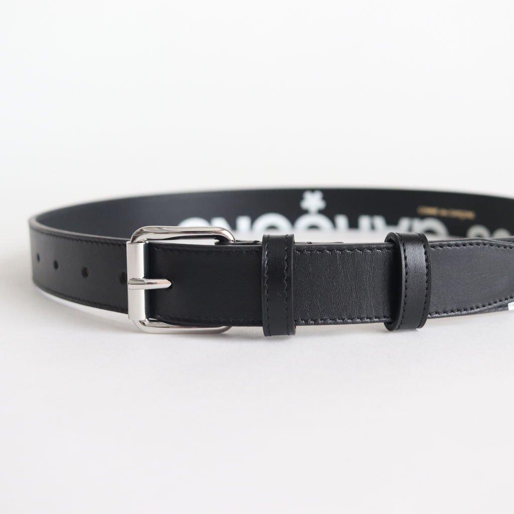 ベルト SA0911HL #HUGE LOGO/BLACK [8Z-T301-051]