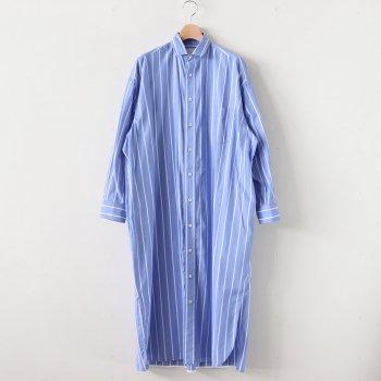 スクエアビッグロングシャツ #BLUE ST [TBKS-033] _ TICCA | ティッカ