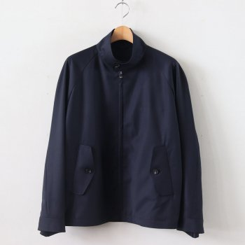 HARRINGTON WOOL - DORMEUIL HIGH TWIST WOOL GABARDINE #NAVY [20SS-CKJK-003] _ The CLASIK | ザ・クラシック