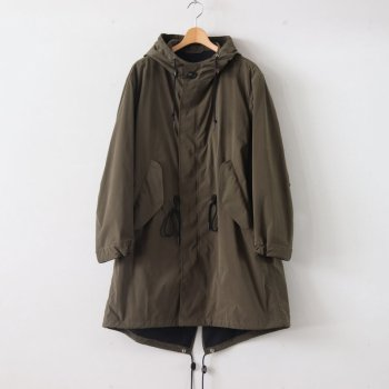 CLASSIC FISHTAIL PARKA PE70% NYLON30% - PERFORMANCE PE/NY POPLIN #OLIVE [20SS-CKCT-005-2] _ The CLASIK | ザ・クラシック