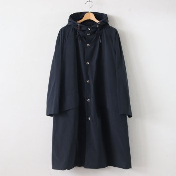 RAIN COAT PE70% NYLON30% - PERFORMANCE PE/NY POPLIN #BLACK NAVY [20SS-CKCT-008] _ The CLASIK | ザ・クラシック