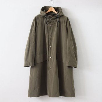 RAIN COAT PE70% NYLON30% - PERFORMANCE PE/NY POPLIN #OLIVE [20SS-CKCT-008] _ The CLASIK | ザ・クラシック
