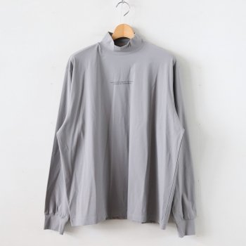 OVERSIZED HIGH NECK LS #S.GRAY [ST.151] _ stein | シュタイン
