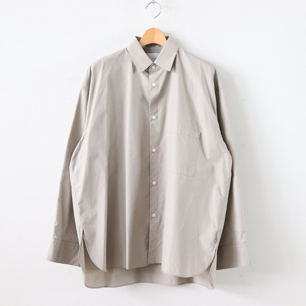 <img class='new_mark_img1' src='https://img.shop-pro.jp/img/new/icons1.gif' style='border:none;display:inline;margin:0px;padding:0px;width:auto;' />OVERSIZED DOWN PATTERN SHIRT #BEIGE [ST.141-1]