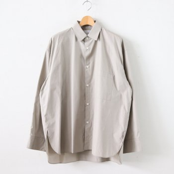 OVERSIZED DOWN PATTERN SHIRT #BEIGE [ST.141-1] _ stein | シュタイン