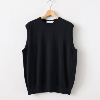 SUVIN VEST #BLACK [GM201-80122B] _ Graphpaper | グラフペーパー