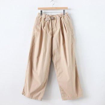 B.D.U BELTED PANTS #BEIGE [FSW-20-PT_01] _ FreshService | フレッシュサービス