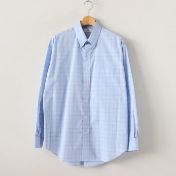 THOMAS MASON L/S B.D BOX SHIRT #BLUE CH [GM201-50058] _ Graphpaper | グラフペーパー