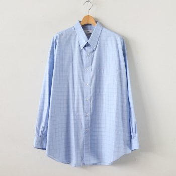 THOMAS MASON OVERSIZED B.D SHIRT #BLUE CH [GM201-50028] _ Graphpaper | グラフペーパー