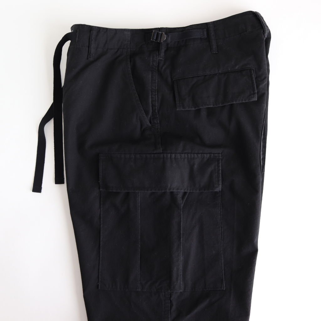 <img class='new_mark_img1' src='https://img.shop-pro.jp/img/new/icons1.gif' style='border:none;display:inline;margin:0px;padding:0px;width:auto;' />6POCKET BDU PANTS #BLACK [H2001-PT006]