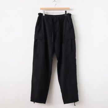 6POCKET BDU PANTS #BLACK [H2001-PT006] _ LENO | リノ