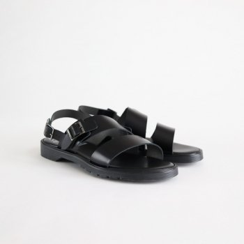 S.S.BELT SANDALS #BLACK [FTC1712003] _ foot the coacher | フットザコーチャー