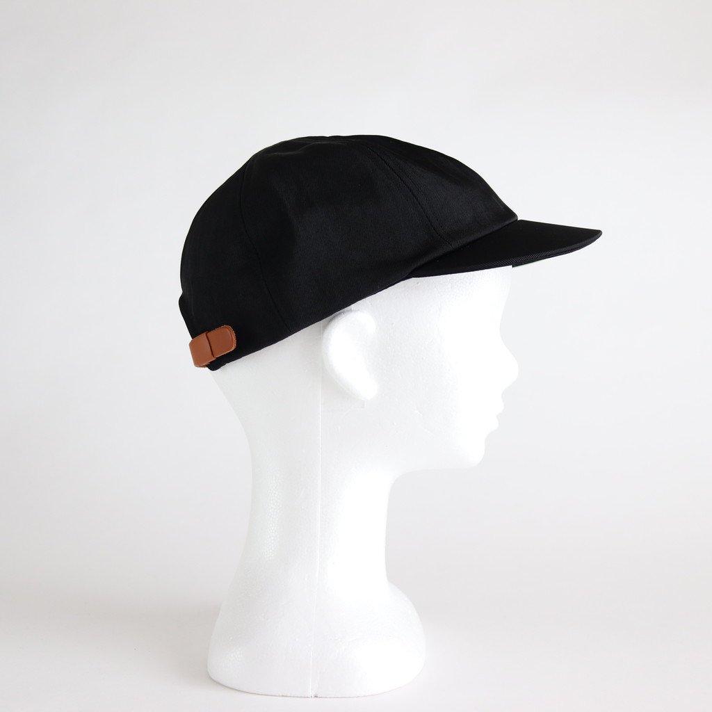 SHORT BRIM CAP1 (NYLON) #BLACK [NO.16585]