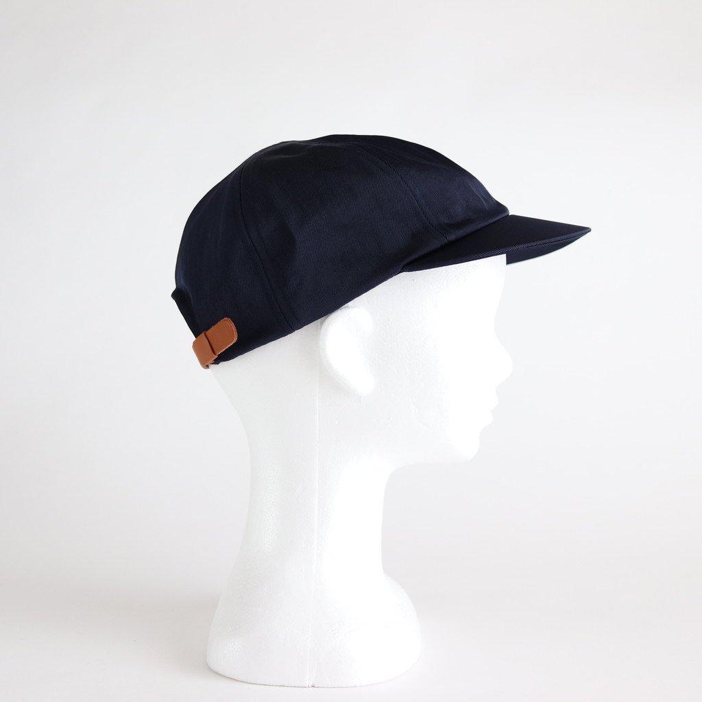 SHORT BRIM CAP1 (NYLON) #NAVY [NO.16585]