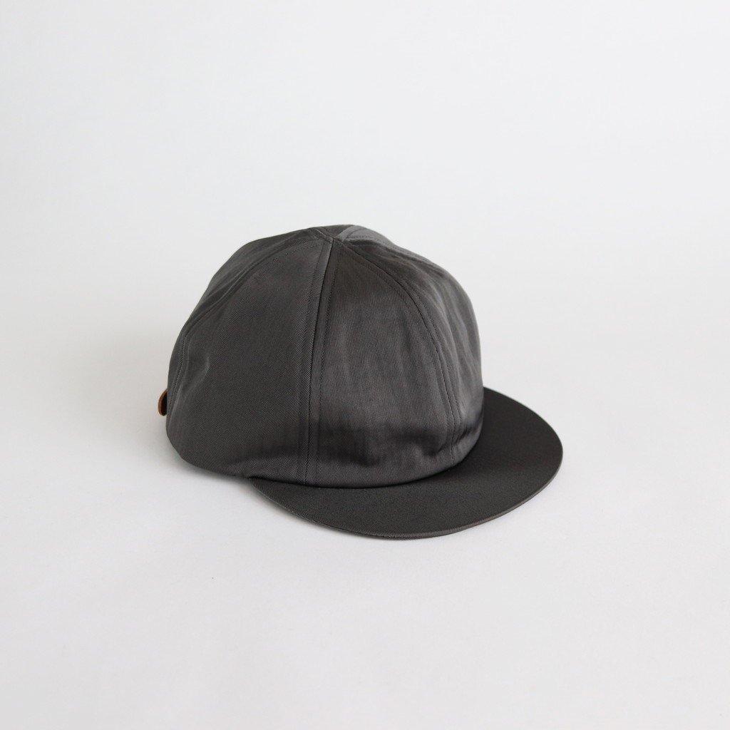 SHORT BRIM CAP1 (NYLON) #GRAY [NO.16585]