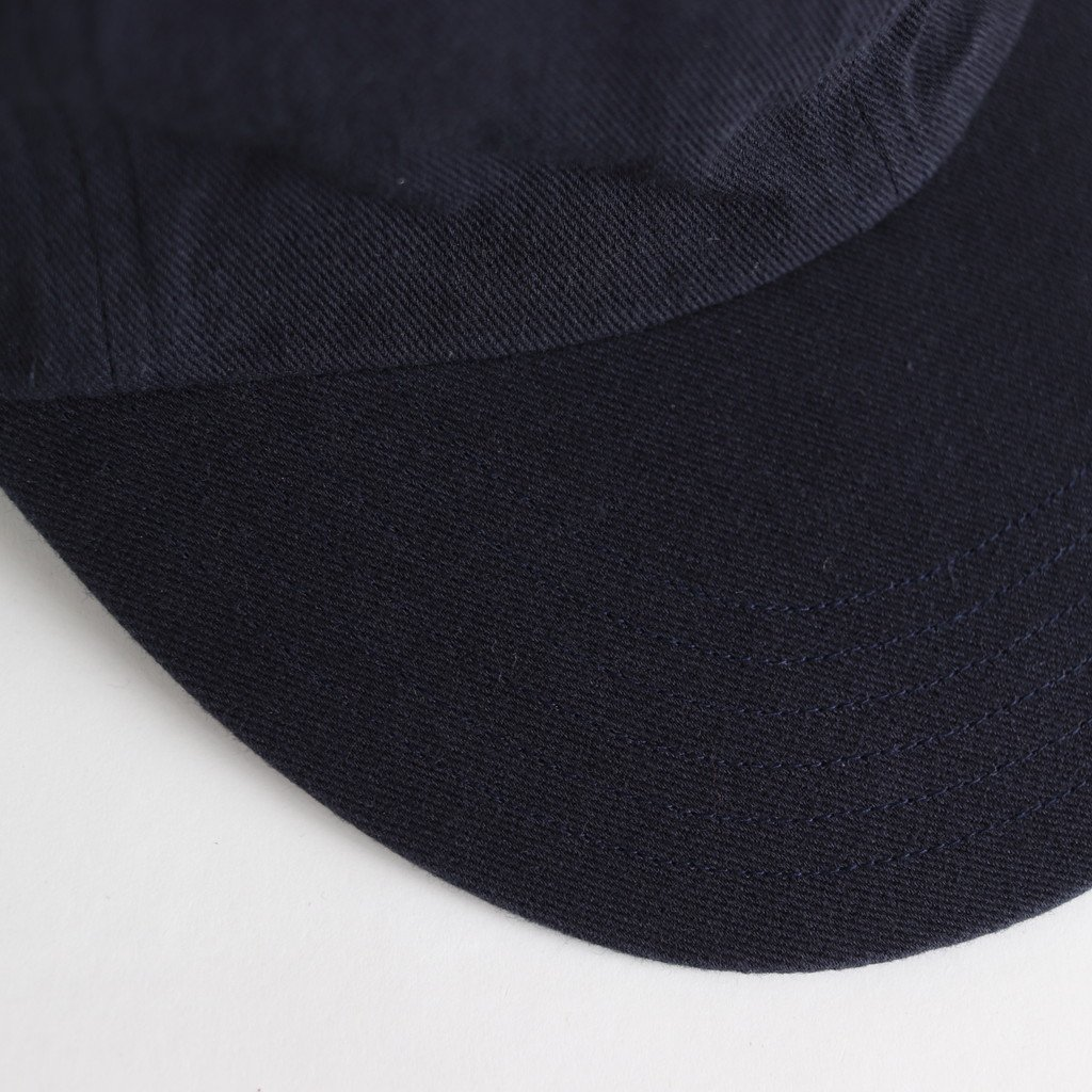 COTTON 6PANELS CAP(ONE WASH) #NAVY [NO.16598]