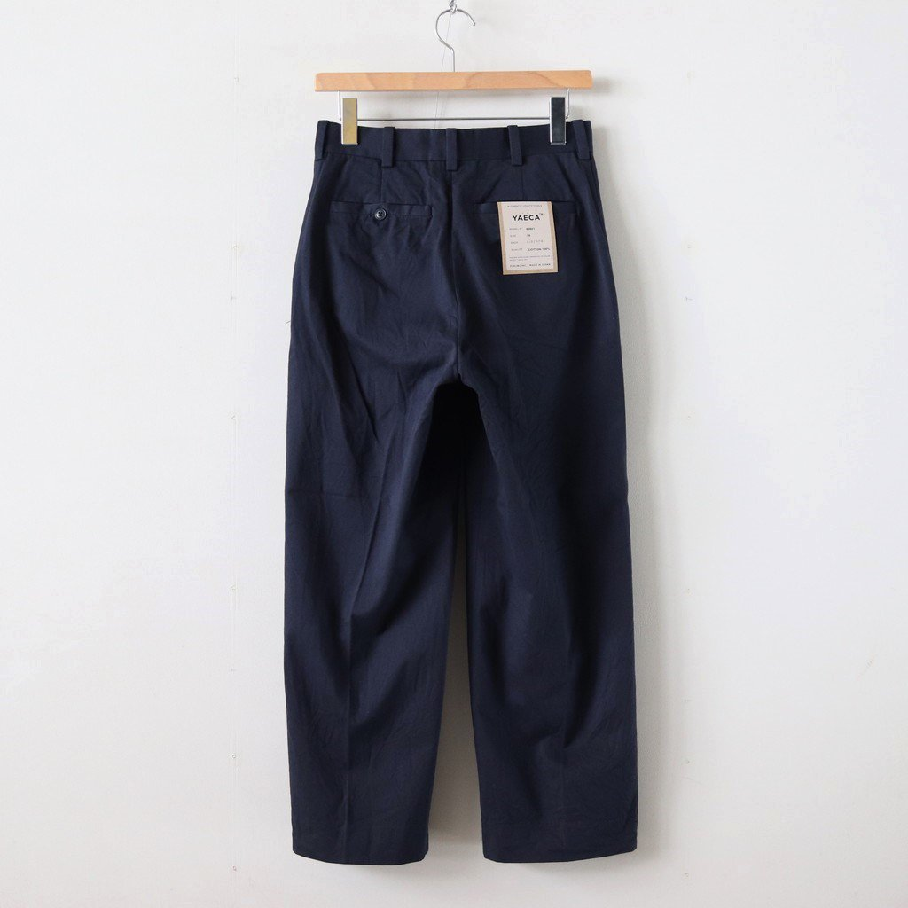 CHINO CLOTH PANTS CREASED #NAVY [60601]