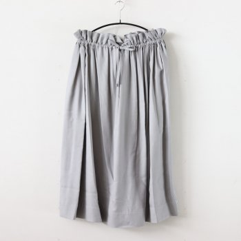VISCOSE SQUARED SKIRT #GRAY [GL201-40023] _ Graphpaper | グラフペーパー