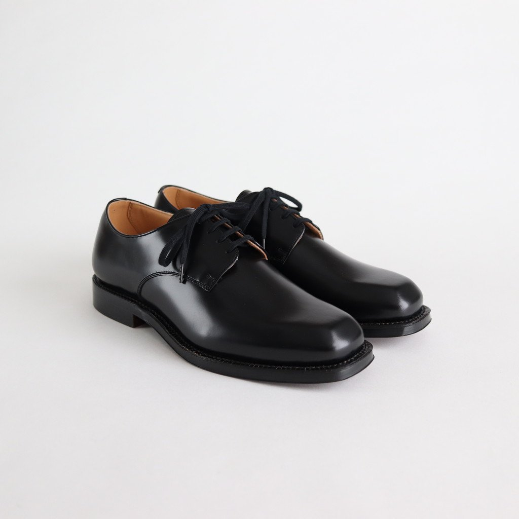 LEATHER SHOES MADE BY FOOT THE COACHER #BLACK [A20SS01FC]