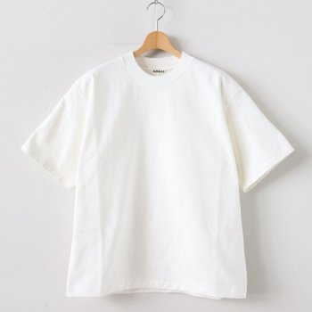 STAND UP TEE #WHITE [A20ST01SU] _ AURALEE | オーラリー